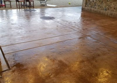 After Scenerio of Concrete Paver Sealing