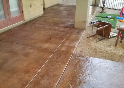 After Scenerio of Concrete Sealing