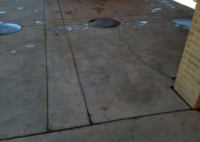 Before Scenerio of Concrete Paver Sealing
