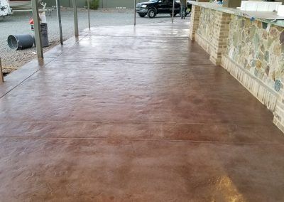 Concrete Paver Sealing