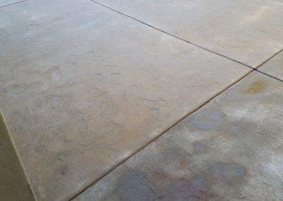 Starting of Concrete Paver Sealing Work