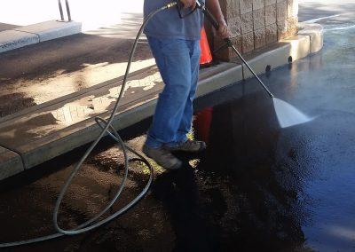 Dakota Power Washing pressure washing concrete, Phoenix, AZ